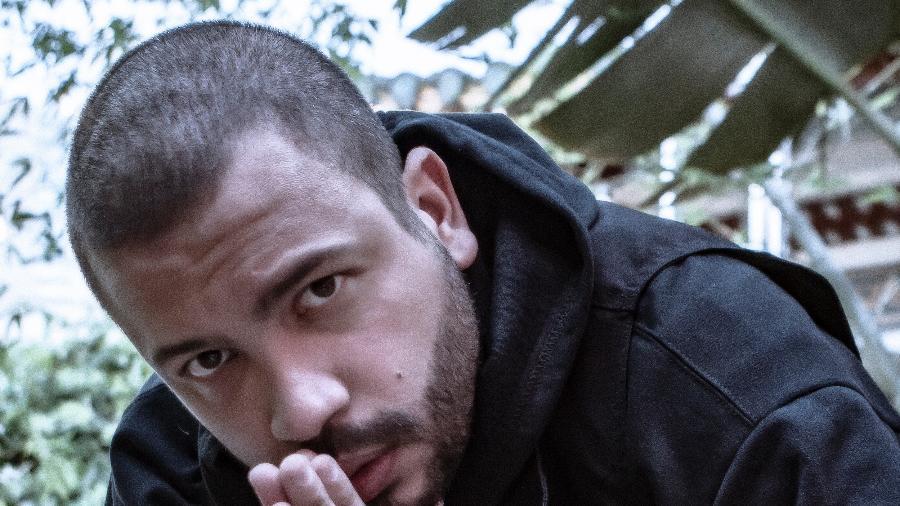 O rapper Projota cantou com Lucas Penteado, planeja mais parcerias e enfrenta processo de luto pela avó - Rui Mendes / Divulgação