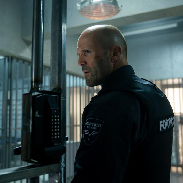 Jason Statham no filme 'Infiltrado', de Guy Ritchie