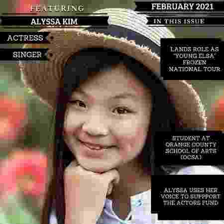 Alyssa Kim, irmã de Alan, também é atriz - Reprodução/Instagram - Reprodução/Instagram