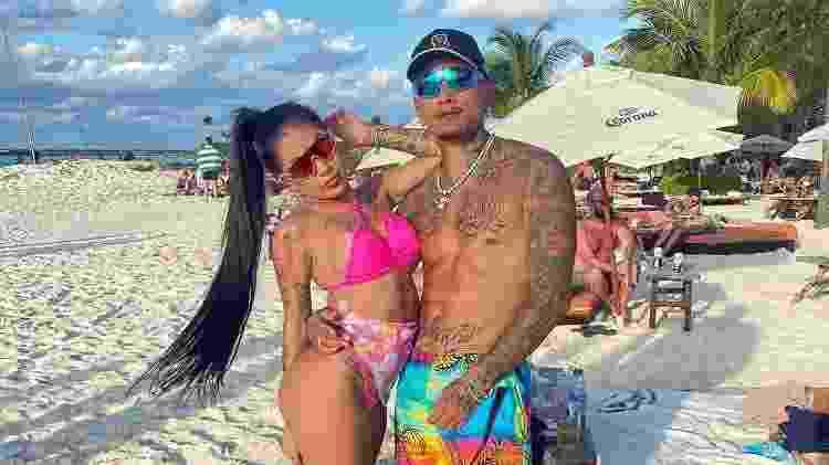 Mirella e Dynho em Cancún, no México - Reprodução/Instagram - Reprodução/Instagram