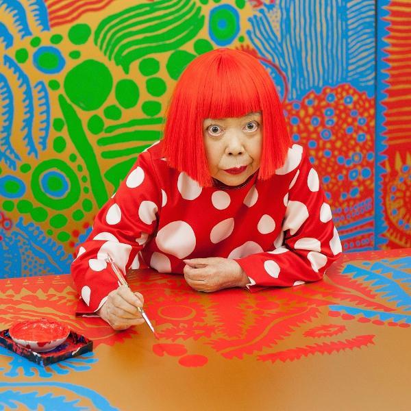 A artista plástica Yayoi Kusama