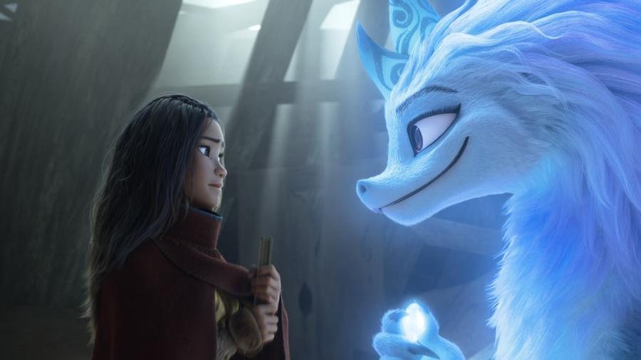 """Cena de """"Raya e o Último Dragão"""", que estreou nesta semana nos cinemas - Divulgação"""