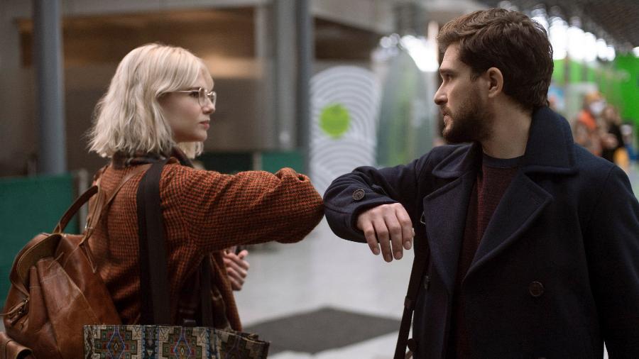 "Lucy Boynton e Kit Harington na segunda temporada de ""Modern Love"" - Amazon/Divulgação"
