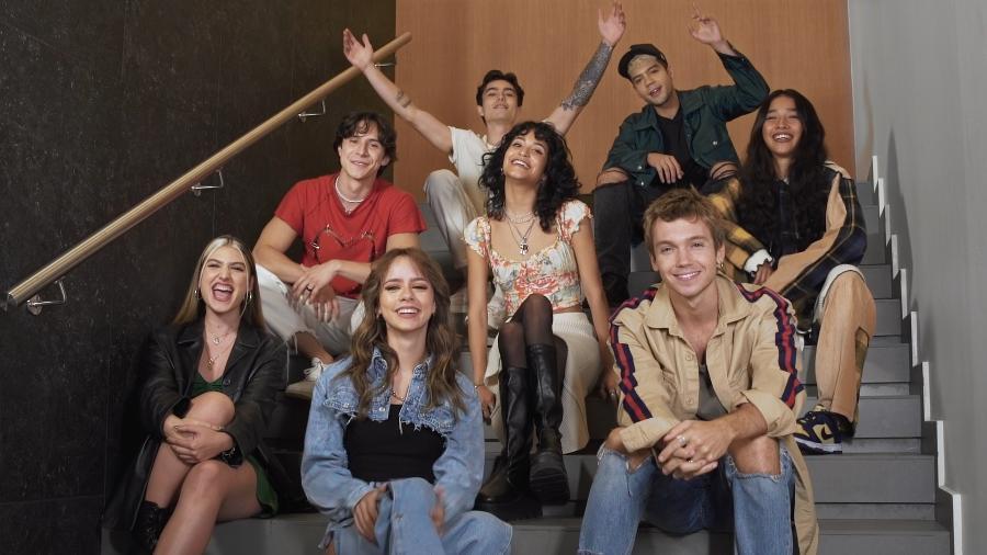 """Elenco de """"Rebelde"""", que ganhará série inédita na Netflix - Divulgação/Netflix"""