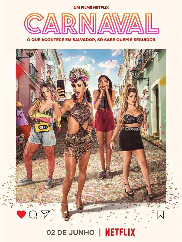Pôster do filme 'Carnaval', da Netflix