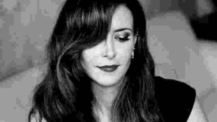 Abbott Kahler, jornalista e amiga de Sara Gruen - Reprodução/Twitter - Reprodução/Twitter