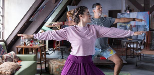 Interpreta pintor boa pinta   De marido abusivo a paizão de Maisa, Du Moscovis limpa sua barra na Netflix