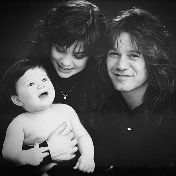 Valerie Bertinelli, Eddie Van Halen e Wolfgang