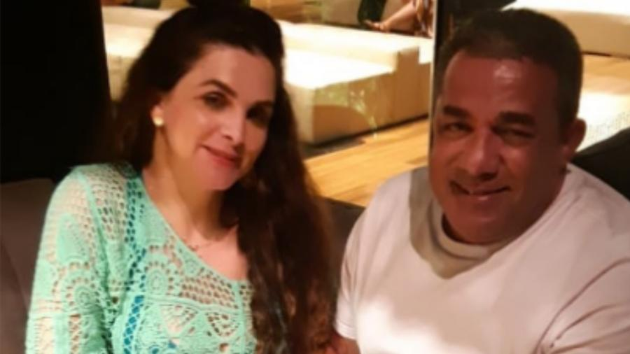 """Luiza Ambiel postou foto com Painitto: """"Enfim sós"""" - Reprodução/Instagram"""