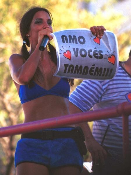 A cantora Ivete Sangalo - Joel Silva/Folhapress
