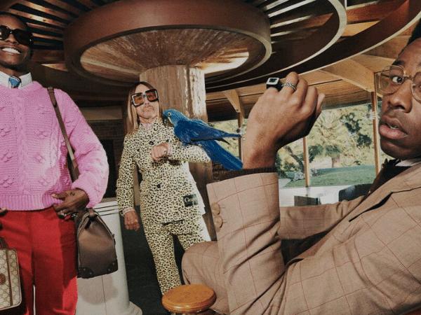 Tyler, the Creator, ASAP Rocky e Iggy Pop em campanha da Gucci