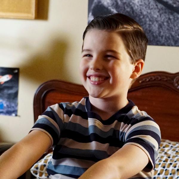 Iain Armitage na quarta temporada de 'Young Sheldon'