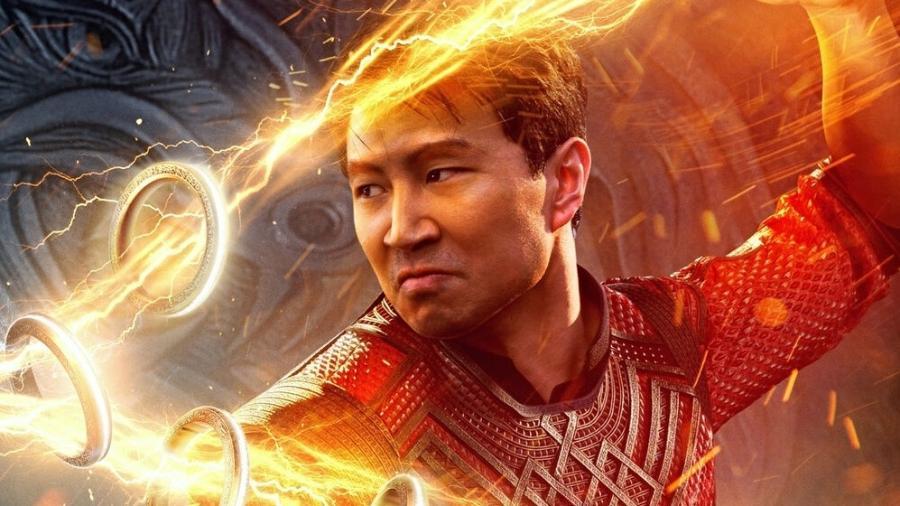 """Simu Liu em """"Shang-Chi e a Lenda dos Dez Anéis"""" - Marvel Studios/Divulgação"""