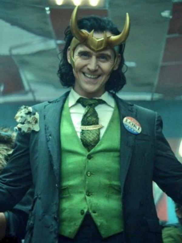 Tom Hiddleston é Loki na série da Disney + que leva o nome do vilão