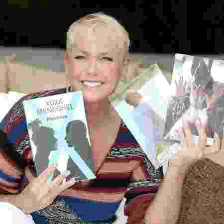 Xuxa livro - Blad Meneghel/Divulgação - Blad Meneghel/Divulgação