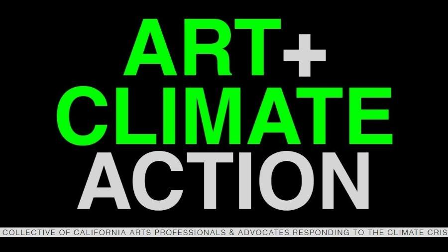Art + Climate Action, um dos participantes do PACT - Divulgação