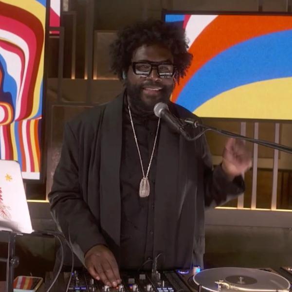 Questlove foi DJ e diretor musical do Oscar 2021