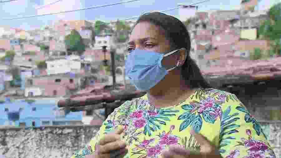 Mirtes Renata Souza, mãe do menino Miguel Otávio, de 5 anos, que morreu ao cair de um prédio de luxo no Centro do Recife - Reprodução/TV Globo