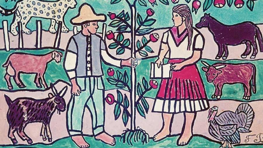 Ilustrações de Francisco Brennand para o Plano Nacional de Alfabetização - Francisco Brennand/ Instituto Oficina Cerâmica Francisco Brennand