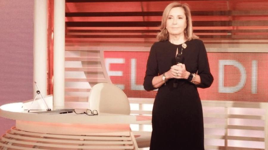 A jornalista italiana Barbara Palombelli - Reprodução / Instagram