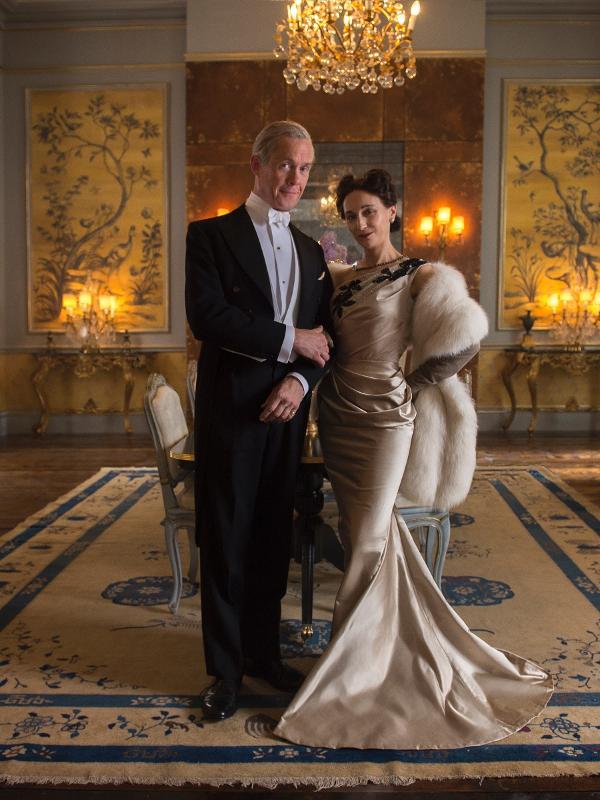 O Duque e a Duquesa de Windsor (da ficção!), na primeira temporada de 'The Crown'