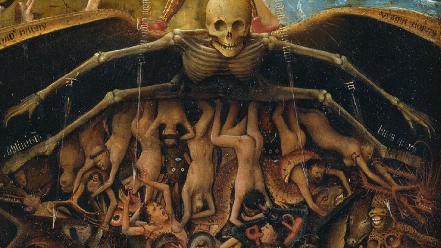 Fragmento de Juízo Final, de Jan van Eyck - Reprodução
