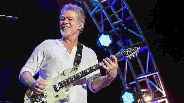 Eddie Van Halen em uma apresentação na Califórnia, em 2015 - Daniel Knighton/Getty Images - Daniel Knighton/Getty Images