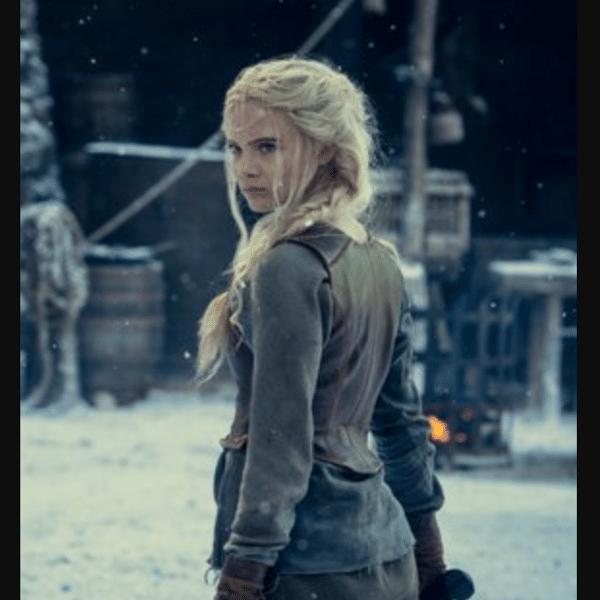 """Primeira foto da personagem Ciri, de """"The Witcher"""""""