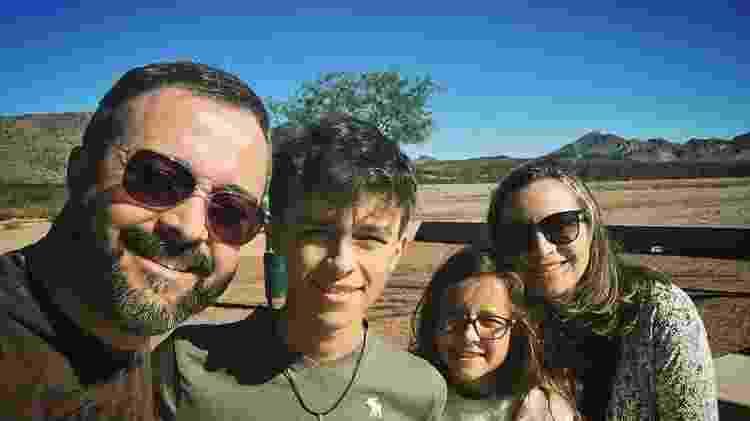 Luan e Vanessa têm dois filhos - Acervo Pessoal - Acervo Pessoal