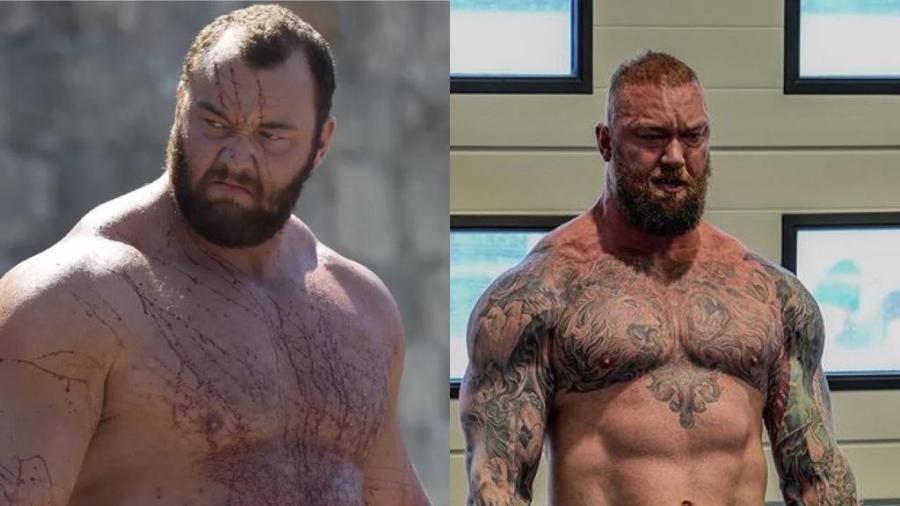 """Hafthor Bjornsson viveu o Montanha em """"Game of Thrones"""" - Reprodução / Instagram"""