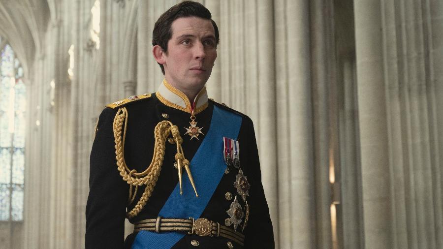 "Josh O""Connor como príncipe Charles na 4ª temporada de ""The Crown"" - Alex Bailey/Netflix"