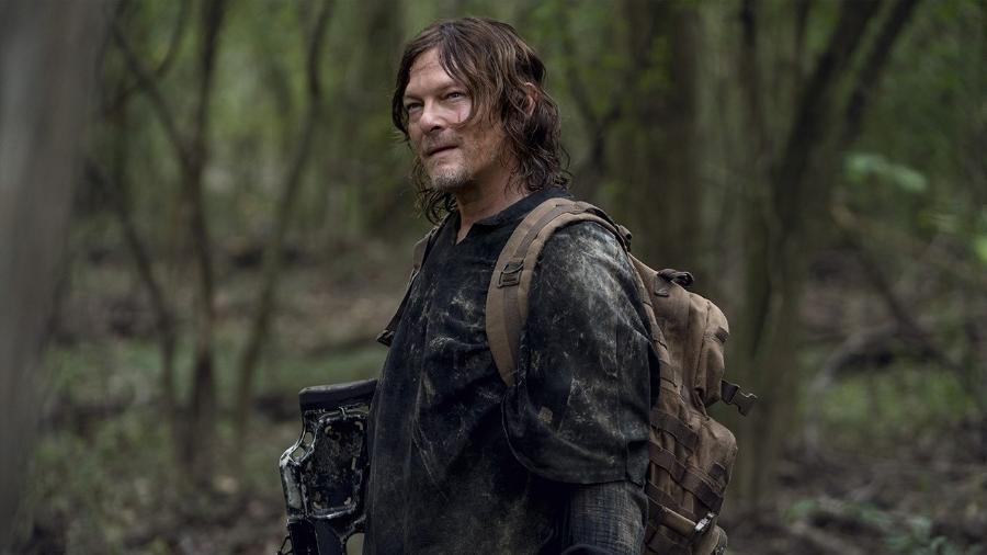 """Daryl (Norman Reedus) na décima temporada de """"The Walking Dead"""" - Divulgação"""