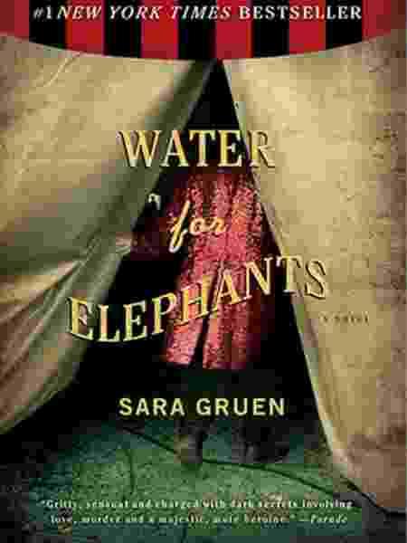 'Água para Elefantes', livro que se tornou filme com Reese Witherspoon - Reprodução - Reprodução