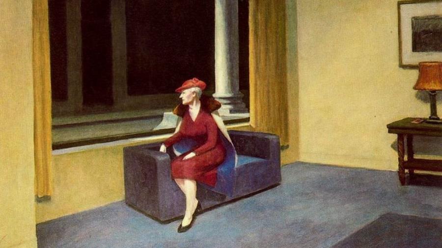 Pintura de Edward Hopper - Reprodução