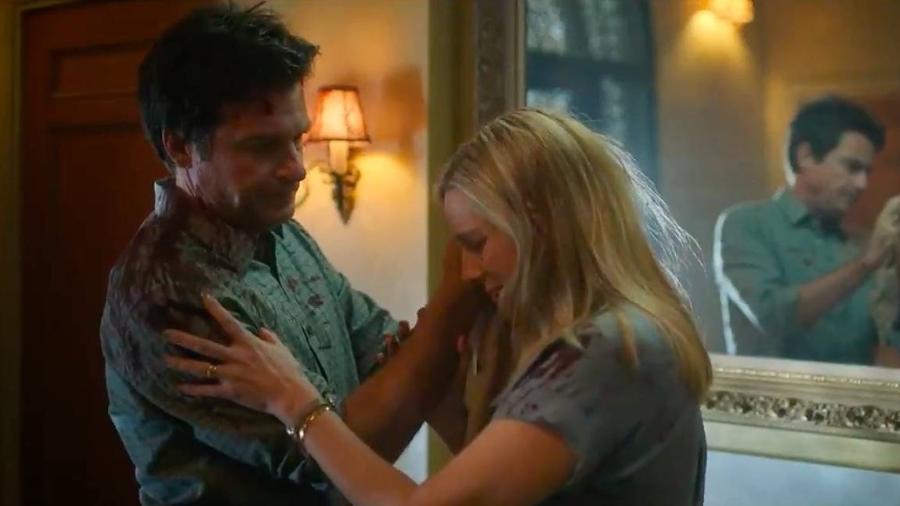 """Marty (Jason Bateman) e Wendy (Laura Linney) em cena da quarta temporada de """"Ozark"""" - Reprodução/Netflix"""
