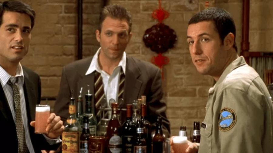 """Peter Dante em cena do filme """"O Paizão"""" (1999) - Reprodução"""