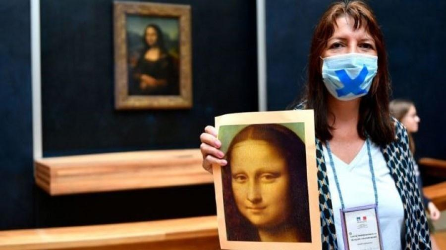 Mona Lisa é a obra mais visitada no Museu do Louvre, em Paris - Getty Images