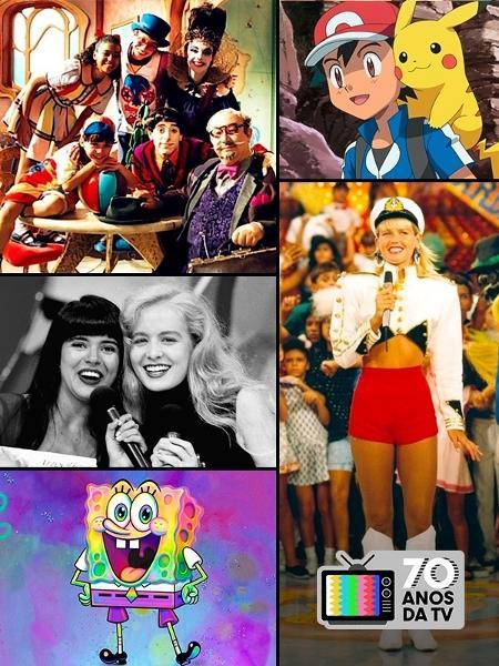 Programas infantis: 70 anos da TV no Brasil - Carol Malavolta/UOL
