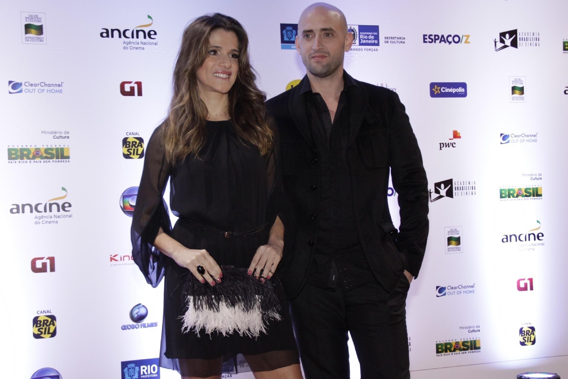 Paulo Gustavo con la sua fidanzata Ingrid Guimarães - AG NEWS