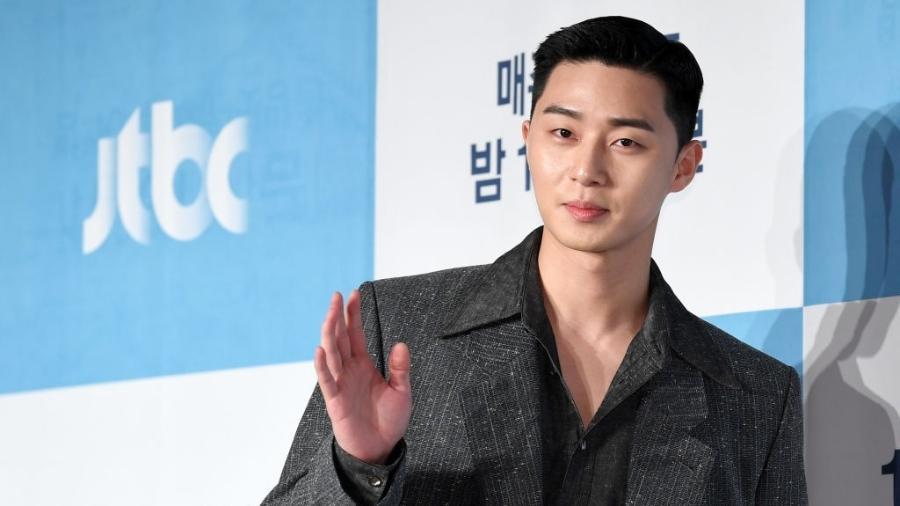 O ator Park Seo-Joon - THE FACT / ImaZins via Getty Images