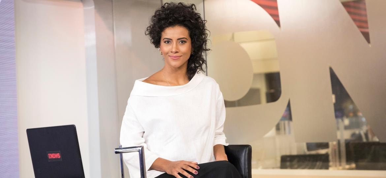 Aline Midlej, uma das âncoras da GloboNews - Divulgação/GloboNews