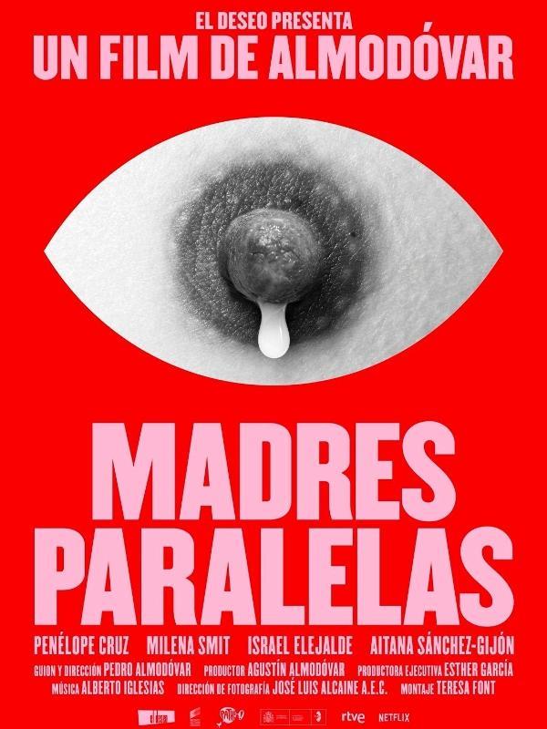 Cartaz de 'Madres Paralelas', de Pedro Almodóvar