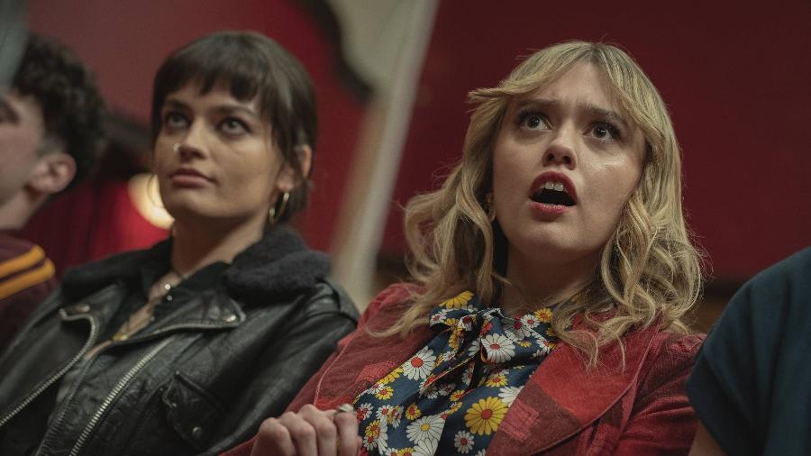 "Aimee Gibbs (Aimee Lou Wood) está apaixonante na terceira temporada de ""Sex Education"" - Sam Taylor/Netflix"