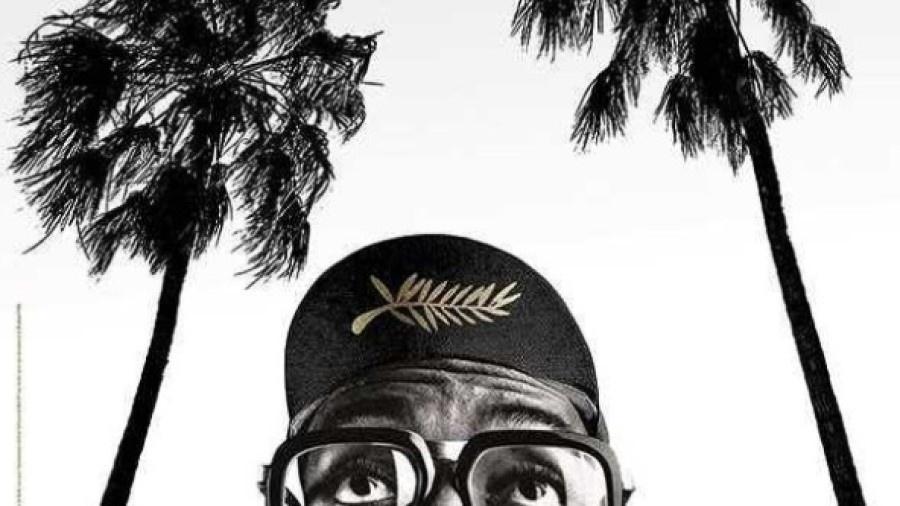 Cartaz do Festival de Cannes em homenagem a Spike Lee - Reprodução/Instagram