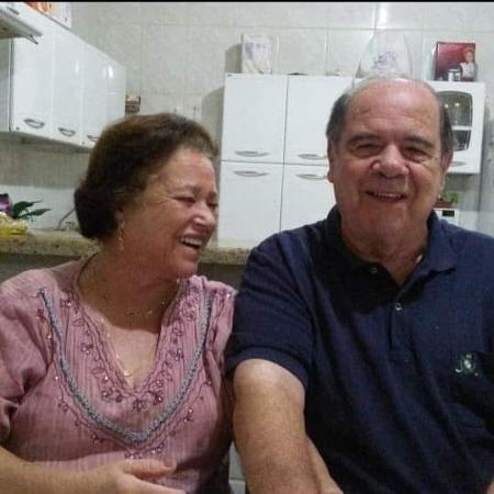 Nilza Witemburg Pontes dos Santos e Luiz Alberto Santos, ambos vítimas da covid-19 - Reprodução