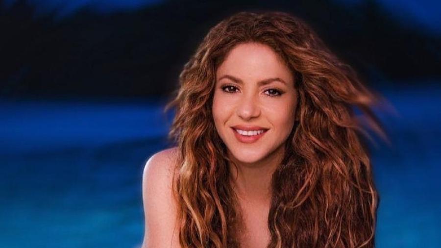 A cantora Shakira - Xavi Menós/Reprodução/Instagram