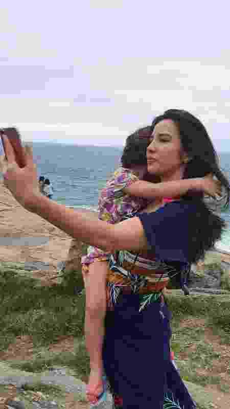 Lohany Martins, 25 anos, e a filha de 5 anos, de seu casamento com Pedro Da Lua - Reprodução/Instagram - Reprodução/Instagram