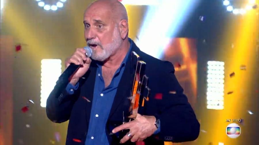 "Zé Alexanddre, campeão do ""The Voice +"" - Reprodução/Globo"