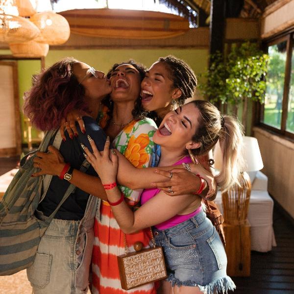 Samya Pascotto, Giovana Cordeiro, Bruna Inocencio e Gkay em cena do filme 'Carnaval', que estreia este ano na Netflix