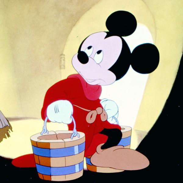 Mickey Mouse no clássico 'Fantasia', de 1940